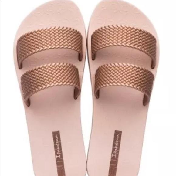 1e58001a1 Ipanema Shoes - Ipanema rose gold beach sandal 9. Worn once.
